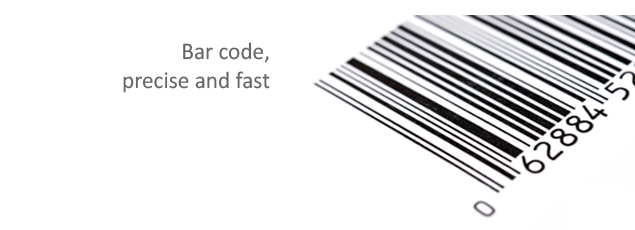 Integrated bar code, faster data entry